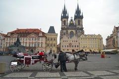 Praga mágica Foto de archivo libre de regalías
