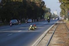 1/2 Praga Maratońskiego †2016 'kenijczycy szybcy w Warszawa Zdjęcie Stock