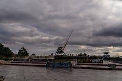 Praga metronom obrazy stock