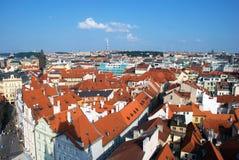 Praga miasta widok Fotografia Stock