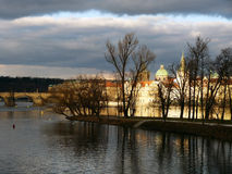 Praga miasto Obrazy Royalty Free