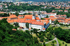 Praga. Monasterio de Strahov Fotografía de archivo libre de regalías