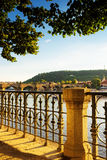 Praga most fotografia royalty free