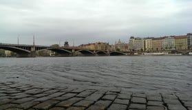 Praga mosta rzeka Zdjęcie Royalty Free