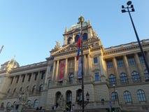 Praga muzealna inauguracja odnawił gothic ossuary tkaczów statuy deathes zdjęcia stock