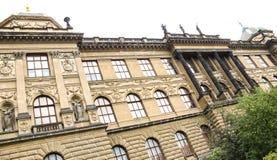 Praga muzeum narodowe 02 Fotografia Royalty Free