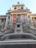 Praga muzeum odnawił gothic ossuary tkaczów statuy deathes obrazy royalty free