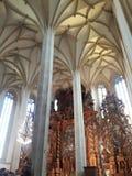 Praga muzeum portu sepulchre koncert odnawił gothic ossuary tkaczów statuy deathes zdjęcia stock