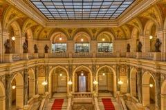 Praga muzeum wnętrze fotografia stock