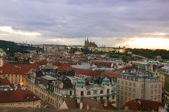 Praga no alvorecer Fotos de Stock