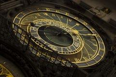 Praga - orologio astronomico Immagine Stock Libera da Diritti