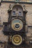 Praga - orologio astronomico Fotografia Stock