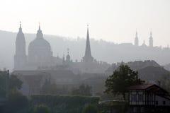 Praga outonal Fotografia de Stock Royalty Free