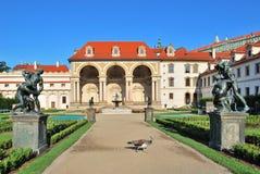 Praga. Palácio de Wallenstein Imagem de Stock Royalty Free
