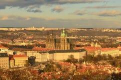 Praga panorama Zdjęcie Stock