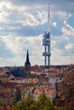 Praga, parco della torre Fotografia Stock