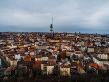 Praga - parte Zizkov Fotografía de archivo libre de regalías