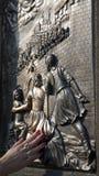 Praga - particolare dal ponticello del Charles fotografie stock libere da diritti