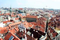Praga pejzaż miejski Zdjęcie Stock