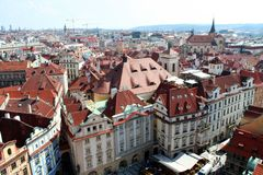 Praga pejzaż miejski Fotografia Royalty Free