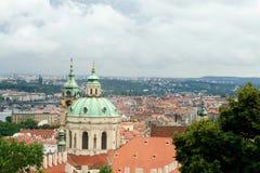 Praga pejzaż miejski, republika czech, Europa Wschodnia Zdjęcie Royalty Free