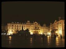 Praga, Praga, vita urbana Immagini Stock Libere da Diritti