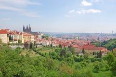 praga Primavera Colinas de Beroun República Checa Fotografía de archivo