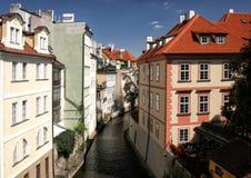 Praga przy Charles mostem zdjęcia royalty free