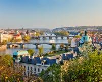 Praga przy zmierzchem Zdjęcie Royalty Free