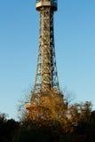 Praga punktu obserwacyjnego wierza Obrazy Royalty Free