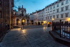 Praga ranek obrazy royalty free
