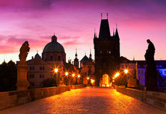 Praga, república checa Imagens de Stock Royalty Free