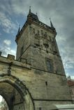 Praga, República Checa - Charles Bridge/ciudad vieja Imagen de archivo libre de regalías