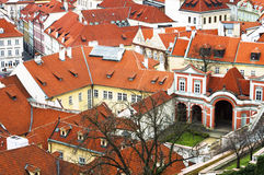 Praga, República Checa, conceito do turista, viajando em Europa, am Fotos de Stock Royalty Free
