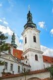 PRAGA, REPÚBLICA CHECA - 13 DE ABRIL: Monastério de Strahov, Praga, C foto de stock