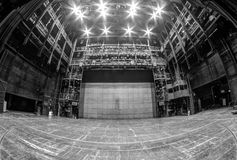 PRAGA, REPÚBLICA CHECA - 23 de janeiro de 2017 - o estado Opera Foto de Stock