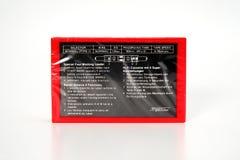 PRAGA, REPÚBLICA CHECA - 29 DE NOVEMBRO DE 2018: Gaveta compacta audio Yoko 90 Cassete áudio em um fundo branco, vista traseira a foto de stock royalty free