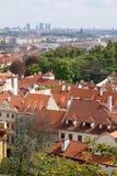 Praga, República Checa - paisaje urbano Fotos de archivo libres de regalías