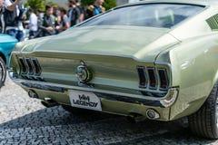 Praga, rep?blica checa - 16/5/2019 de mustang de Ford imagens de stock
