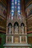 PRAGA, REPUBLIC/EUROPE CECO - 24 SETTEMBRE: Altare di St Anne Immagine Stock Libera da Diritti