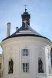 PRAGA, REPUBLIC/EUROPE CECO - 24 SETTEMBRE: Cappella trasversale santa Immagine Stock