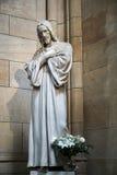 PRAGA, REPUBLIC/EUROPE CECO - 24 SETTEMBRE: Statua di Gesù C Immagine Stock