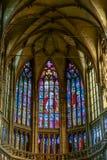 PRAGA, REPUBLIC/EUROPE CECO - 24 SETTEMBRE: Vittoria del vetro macchiato Fotografia Stock