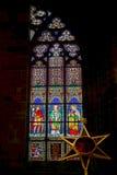 PRAGA, REPUBLIC/EUROPE CECO - 24 SETTEMBRE: Vittoria del vetro macchiato Immagine Stock