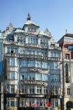 PRAGA, REPUBLIC/EUROPE CHECO - 24 DE SEPTIEMBRE: Embajador del hotel Imágenes de archivo libres de regalías