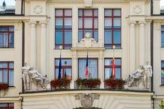 PRAGA, REPUBLIC/EUROPE CHECO - 24 DE SETEMBRO: Ideia parcial de t Imagens de Stock Royalty Free