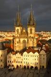 Praga, republika czech Obrazy Stock