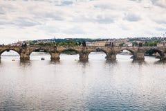 Praga, republika czech - 04 2016 Lipiec Obrazy Stock