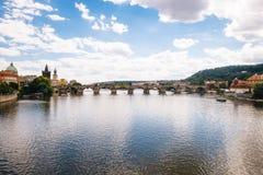 Praga, republika czech - 04 2016 Lipiec Fotografia Stock
