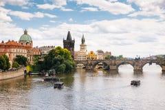 Praga, republika czech - 04 2016 Lipiec Zdjęcie Stock